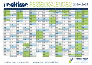Ferienkalender 2020/2021